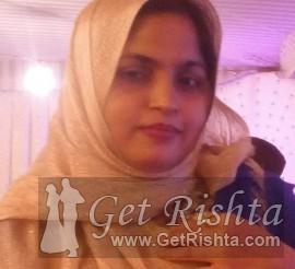 Girl Rishta proposal for marriage in Karachi Urdu Speaking