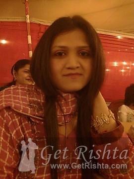 Girl Rishta proposal for marriage in Karachi Sindhi