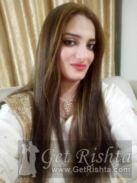 Girl Rishta proposal for marriage in Lahore Arain