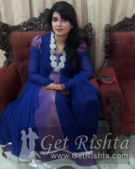 Girl Rishta proposal for marriage in Lahore raja