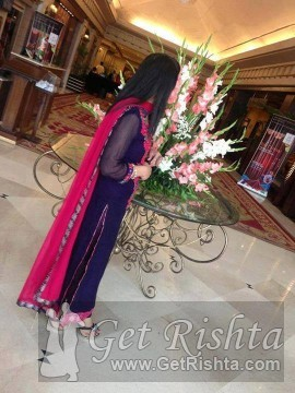 Girl Rishta proposal for marriage in Karachi Bukhari Syed