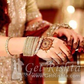 Girl Rishta proposal for marriage in Karachi Siddiqui