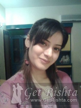 Girl Rishta proposal for marriage in Lahore
