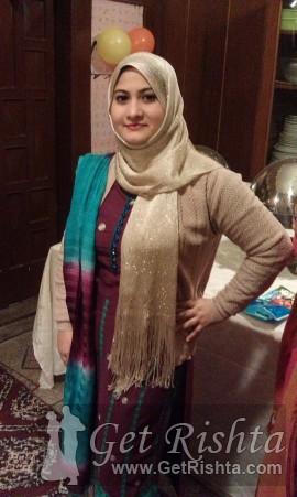 Girl Rishta proposal for marriage in Karachi Kashmiri