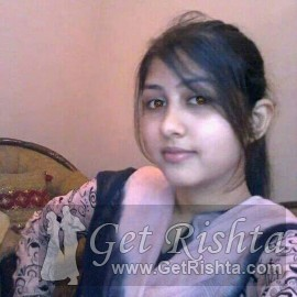 Girl Rishta proposal for marriage in Lahore Syed