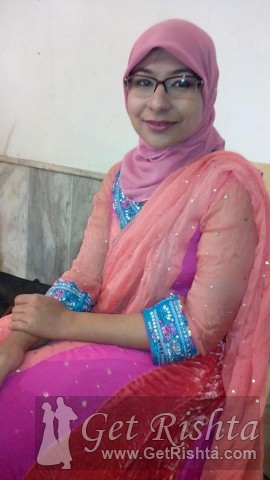 Girl Rishta proposal for marriage in Islamabad Siddiqui