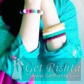 Girl Rishta proposal for marriage in Rawalpindi Rajpoot Bhatti