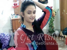 Girl Rishta proposal for marriage in Lahore Chaudhry Gujjar