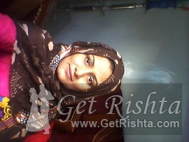 Girl Rishta proposal for marriage in Karachi Syed
